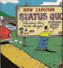 Status Quo Cartoon